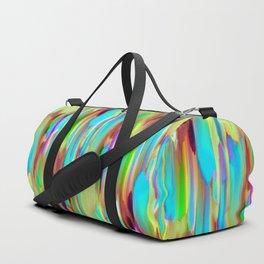 Colorful digital art splashing G505 Duffle Bag