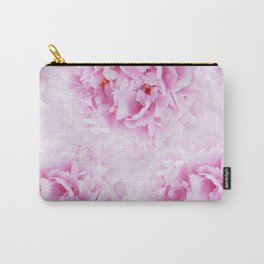 Pink Peonies Dream #1 #floral #decor #art #society6 Carry-All Pouch