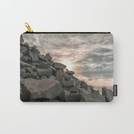 Rocks sky and sea Carry-All Pouch
