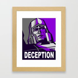 Deception 2 Framed Art Print