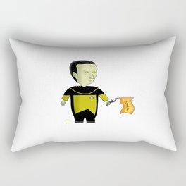 A Sense Of Humor Rectangular Pillow