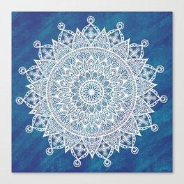 Snowflake Beauty Canvas Print