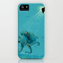 Kite Manta iPhone Case