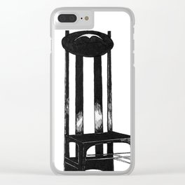 Mackintosh Chair Clear iPhone Case