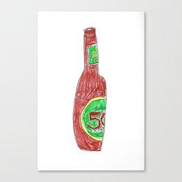 50 Canvas Print