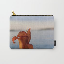 Tiger Lily by the Sea Carry-All Pouch