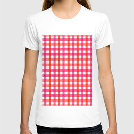 Gingham: Strawberry Flavor T-shirt