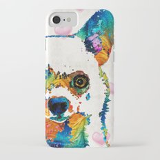Colorful Chihuahua Art by Sharon Cummings Slim Case iPhone 7