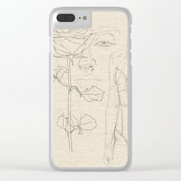 Thanks, but nah. Clear iPhone Case