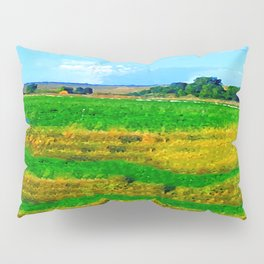 Nestled in the Valley:  Smoke on the Horizon Pillow Sham
