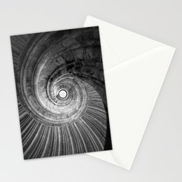 Winding staircase Stationery Cards