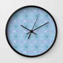 Mandala Snowflakes II Wall Clock