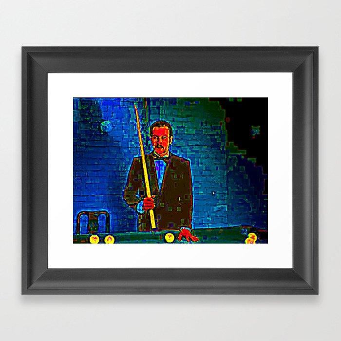 HOTEL POOL Framed Art Print
