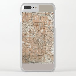 Milan, Italy / Milano, Italia antique map Clear iPhone Case
