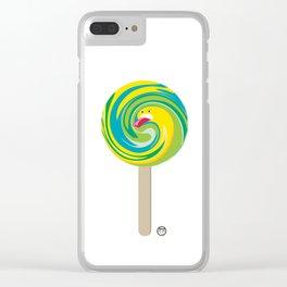 Pal-lecca-lecca Clear iPhone Case