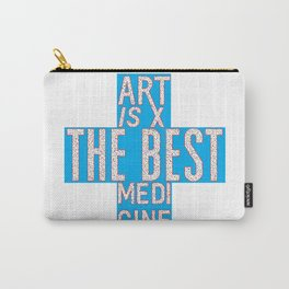 Art is the Best Medicine Carry-All Pouch