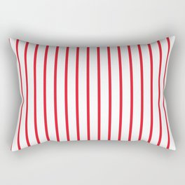 Philadelphia baseball stripes Rectangular Pillow