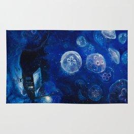 It's Jellyfishing Outside Tonight Rug