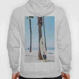Surfboard By The Ocean Hoody
