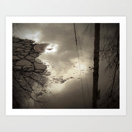Losing The Light Art Print