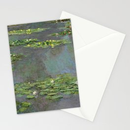 """Claude Monet """"Water Lilies"""" (6) Stationery Cards"""