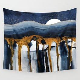Liquid Hills Wall Tapestry