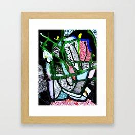 Dark Cells Framed Art Print