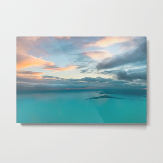 Sea and Sky Metal Print