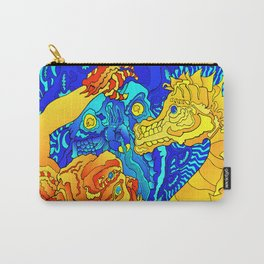 Other Worlds: Wild Sea Horse Carry-All Pouch