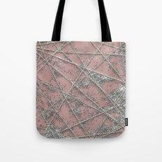 Sparkle Net Pink Tote Bag