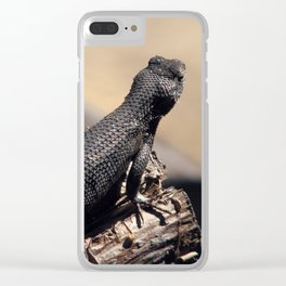 Basking Clear iPhone Case