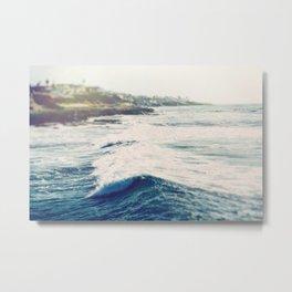 California Waters Metal Print
