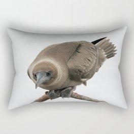 Curious young boobie Rectangular Pillow