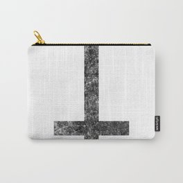 Inverted cross  blac Carry-All Pouch