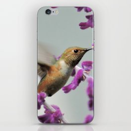 Slipping in for Another Sip iPhone Skin