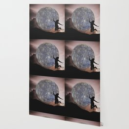 DANCING WITH THE MOON Wallpaper