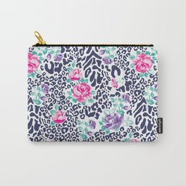 floral animal Carry-All Pouch