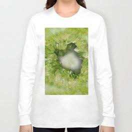 Heart of Stone Peridot Geode Long Sleeve T-shirt