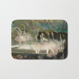 Edgar Degas - Ballet at the Paris Opéra, 1877 Bath Mat