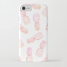 Pink Pineapples Slim Case iPhone 7