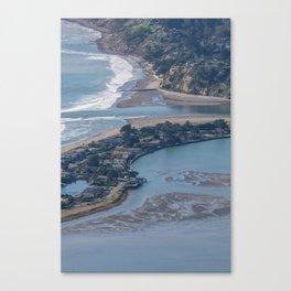 Stinson Beach & Bolinas Lagoon Canvas Print