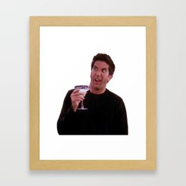 Ross is fine Framed Art Print