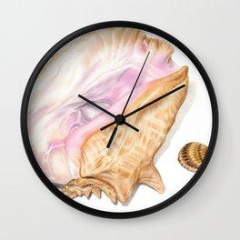 Seashells 01 Wall Clock