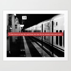 subway station Art Print