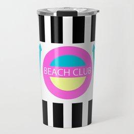 Sport Casual Beach Club 90s Vibe Travel Mug