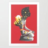 Somber Art Print