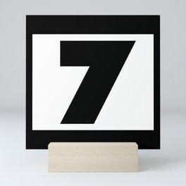 7 Mini Art Print