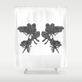 Rosarch Shower Curtain