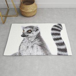 Ring Tailed Lemur Rug