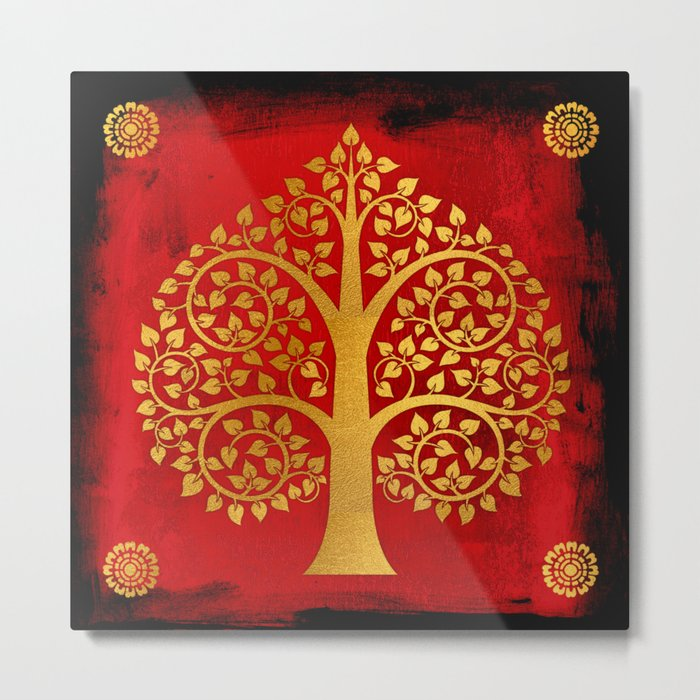 Bodhi Tree0109 Metal Print